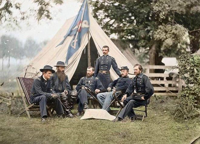 Vieilles de 150 ans, ces 20 images de la Guerre de Sécession renaissent en couleur...Par Jérémy B.   %24%20%2815%29