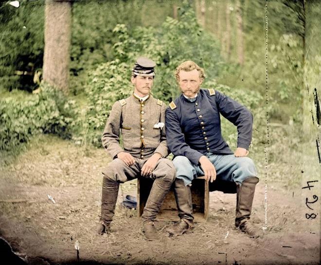 Vieilles de 150 ans, ces 20 images de la Guerre de Sécession renaissent en couleur...Par Jérémy B.   %24%20%283%29