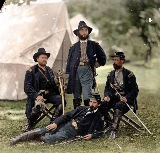 Vieilles de 150 ans, ces 20 images de la Guerre de Sécession renaissent en couleur...Par Jérémy B.   %24%20%285%29
