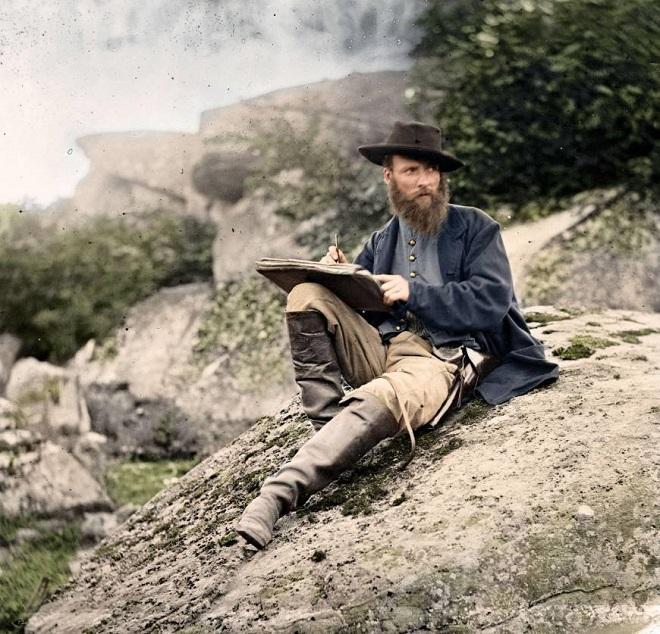 Vieilles de 150 ans, ces 20 images de la Guerre de Sécession renaissent en couleur...Par Jérémy B.   %24%20%286%29