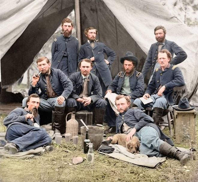 Vieilles de 150 ans, ces 20 images de la Guerre de Sécession renaissent en couleur...Par Jérémy B.   %24%20%287%29