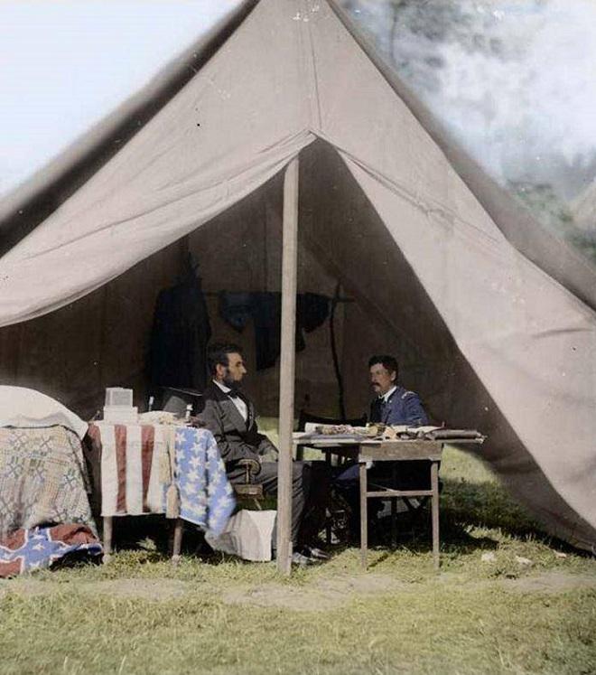 Vieilles de 150 ans, ces 20 images de la Guerre de Sécession renaissent en couleur...Par Jérémy B.   %24%20%289%29