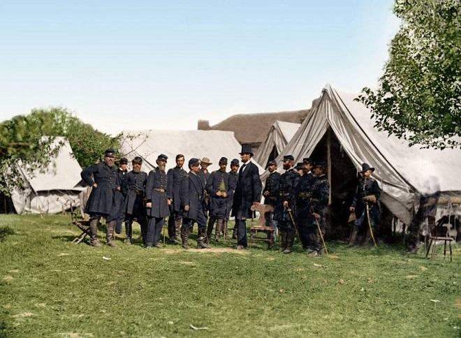 Vieilles de 150 ans, ces 20 images de la Guerre de Sécession renaissent en couleur...Par Jérémy B.   %24