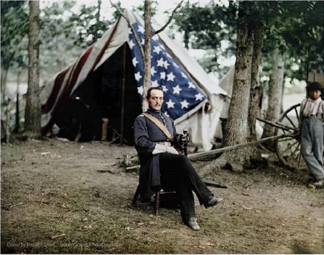 Vieilles de 150 ans, ces 20 images de la Guerre de Sécession renaissent en couleur...Par Jérémy B.   Photojacker%20reddit2