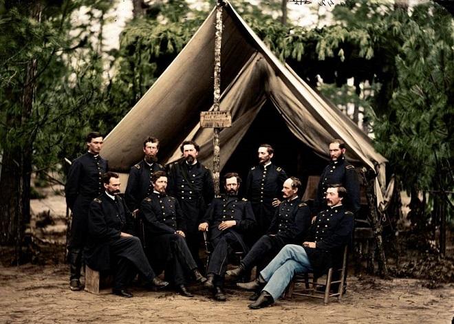 Vieilles de 150 ans, ces 20 images de la Guerre de Sécession renaissent en couleur...Par Jérémy B.   Zuzahin%20reddit