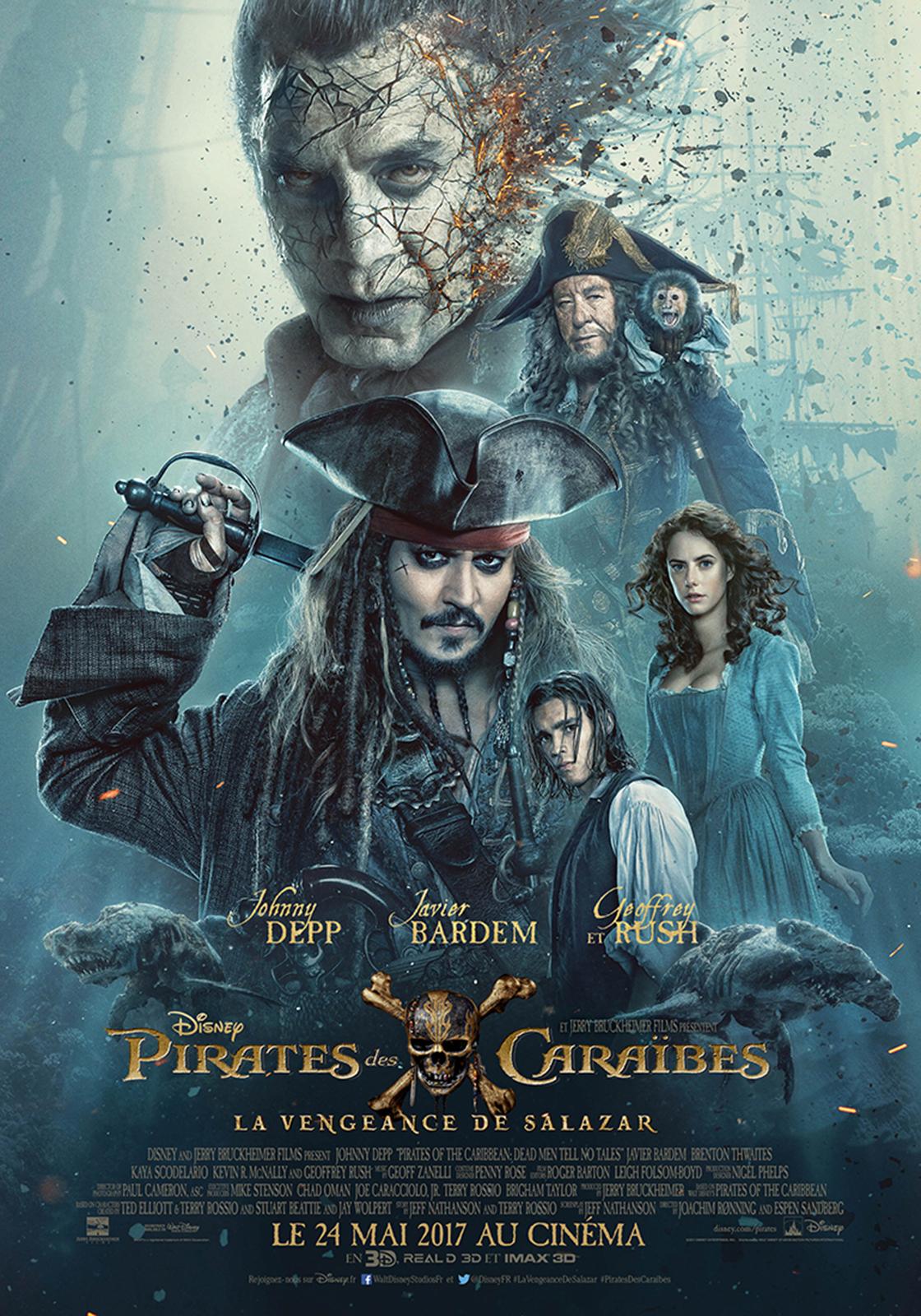 Incroyable ! La nouvelle bande-annonce de « Pirates des Caraïbes 5 » confirme le retour de Keira Knightley dans la saga ! Par Marine B.                     Pirates%20des%20caraibes%205%20poster%20officiel