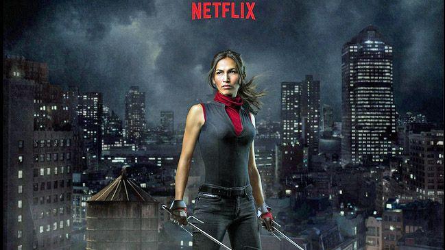 «The Defenders», la nouvelle série de Netflix et Marvel ! Bande-annonce                          Daredevil-season2-elektra