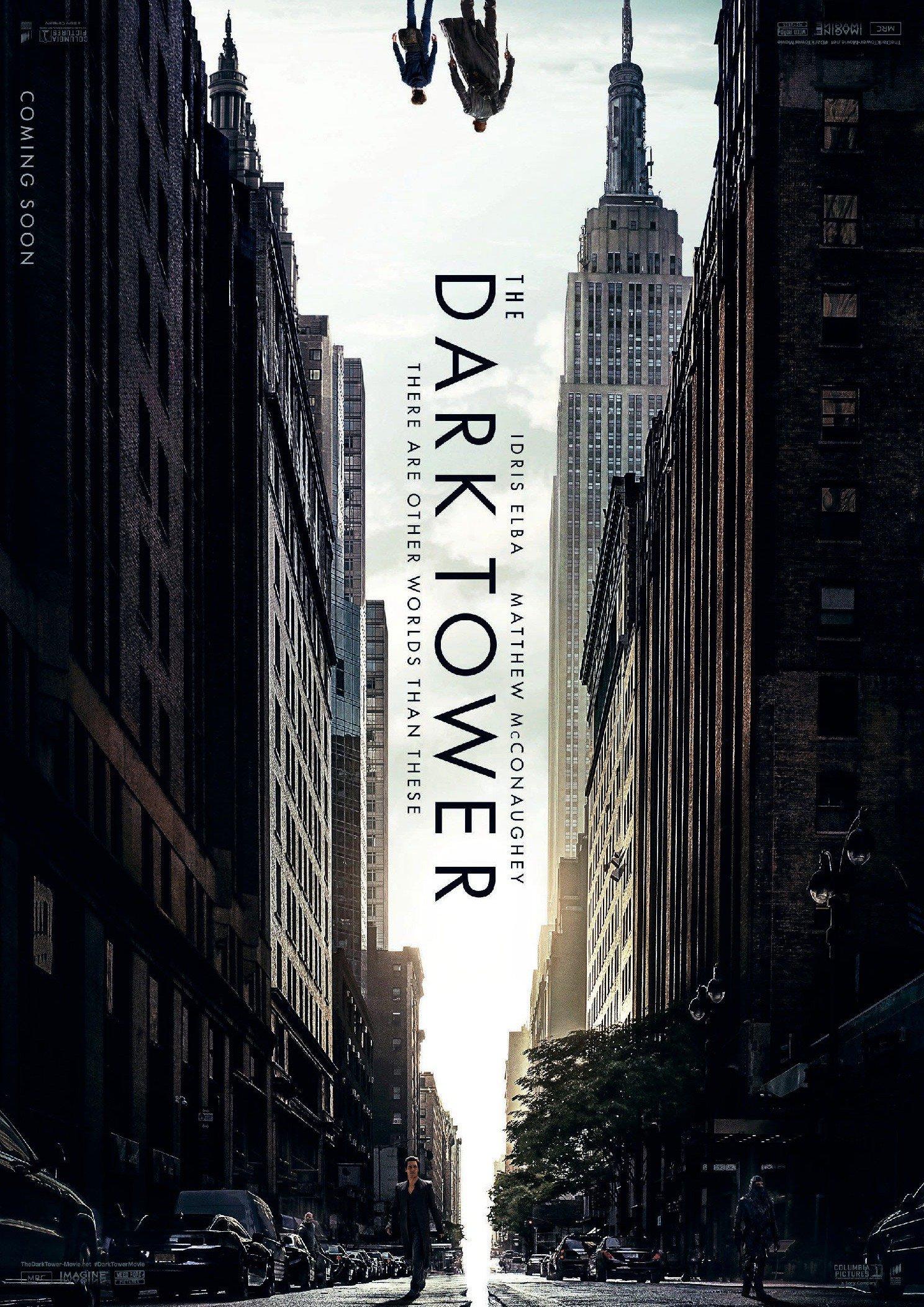 « La Tour Sombre » se dévoile un peu plus dans un premier trailer électrisant ! Par Marine B.                     Dark-tower-poster-rotated