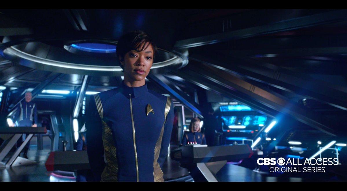 « Star Trek Discovery » : la première bande-annonce vient d'être diffusée et elle est à couper le souffle ! Par Marine B.                    DAD0hTKUAAAUkTP