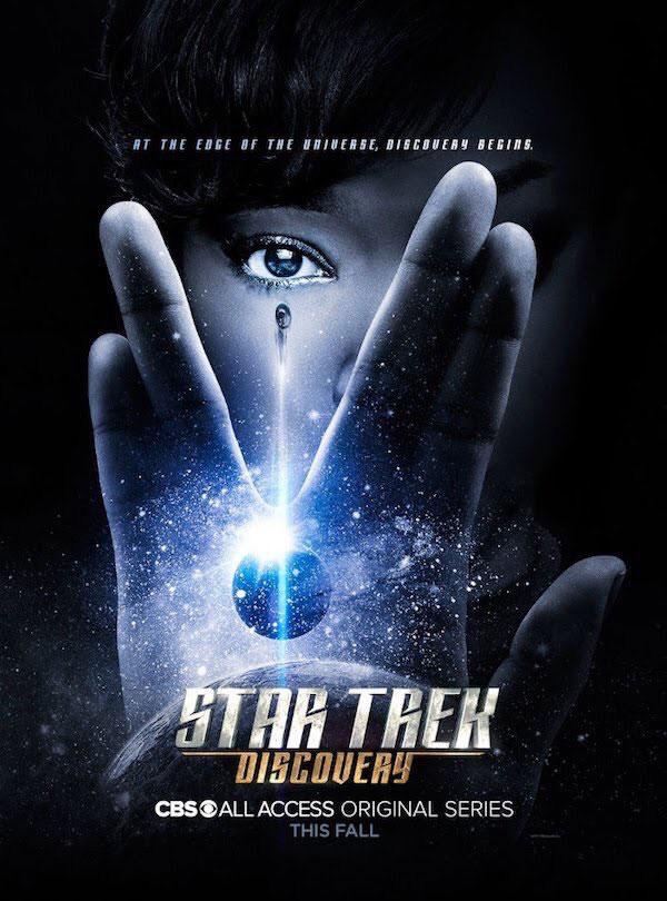 « Star Trek Discovery » : la première bande-annonce vient d'être diffusée et elle est à couper le souffle ! Par Marine B.                    Star-trek-discovery-poster