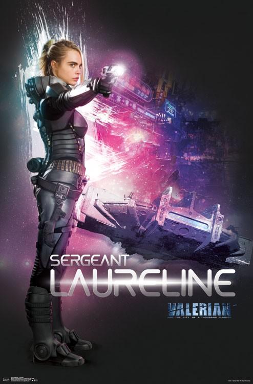 La dernière bande-annonce de « Valérian et la Cité des Mille Planètes » Par Marine B.                            15721-valerian-laureline_4x6