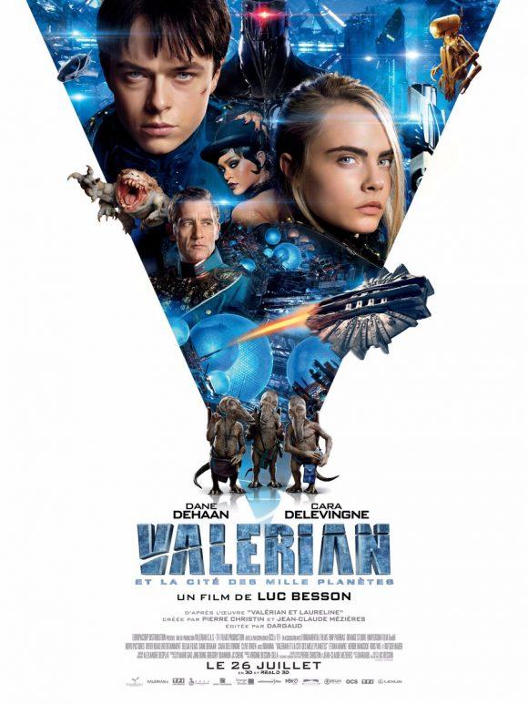 La dernière bande-annonce de « Valérian et la Cité des Mille Planètes » Par Marine B.                            DAg-H9aXkAElkIB-580x773