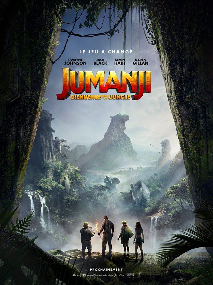 La nouvelle adaptation de « Jumanji » a sa première bande-annonce... Et elle est démente ! Par Marine B.              19601102_10155621099059736_7297064459097319951_n