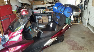 Just returned from 36-37 day trip Fully-loaded