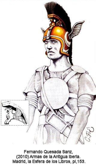 EL CORTEL. El cuchillo Táctico de los Almogávares - Página 9 Casco_guerrero