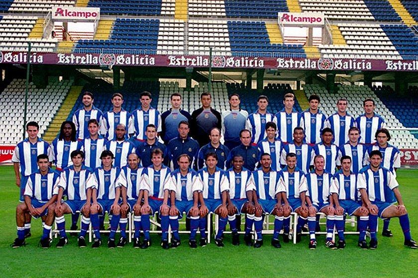 Hilo del Deportivo de la Coruña Depor-20012002-2