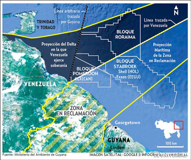 TSJ - Noticias Internacionales - Página 22 Venezuela-Esequibo-Aguas