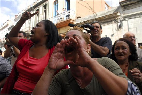 Un acto de repudio por dentro por Iván García, desde la Habana Cuba Fabroroor