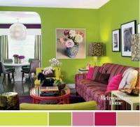 Копилка готовых решений: 20 цветовых сочетаний для весеннего настроения в доме Spring-combo-color7.thumbnail