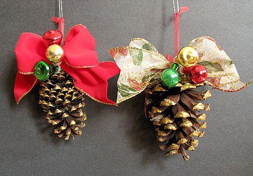 Новогодние украшения своими руками - Страница 2 Pinecones-new-year-decor-ideas1-3