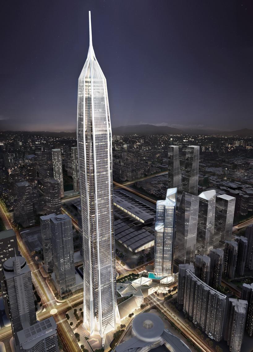 LA EXISTENCIA DEL CIELO - Página 2 Chinas-tallest-skyscraper-shenzhen-kohn-pedersen-fox-kpf-designboom-03