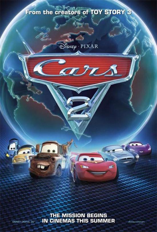 أفلامــ  2012 DISNeP Cars-2-Movie-Poster