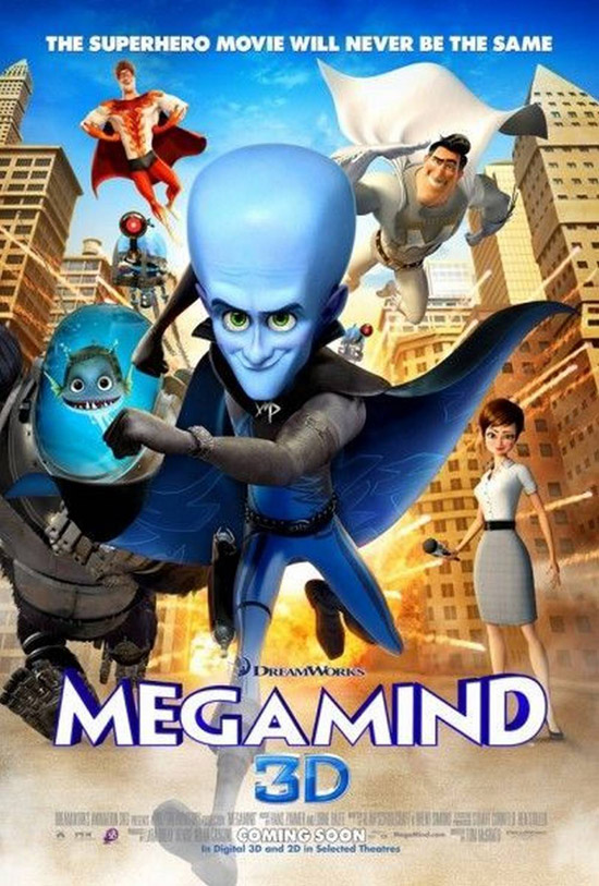 أفلامــ  2012 DISNeP Megamind-animated-poster
