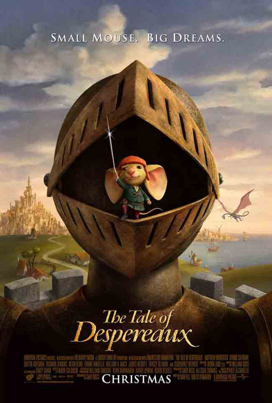 أفلامــ  2012 DISNeP Despereaux-poster