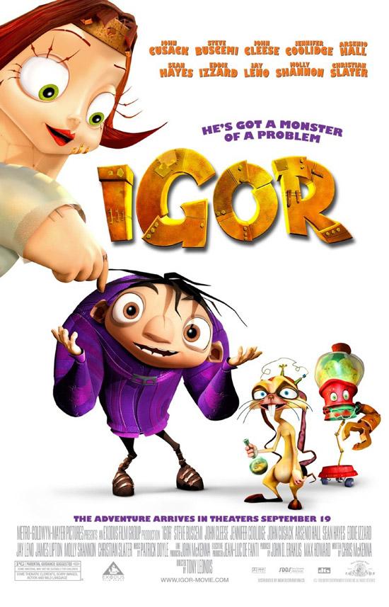 أفلامــ  2012 DISNeP Igor-monster-movie-poster
