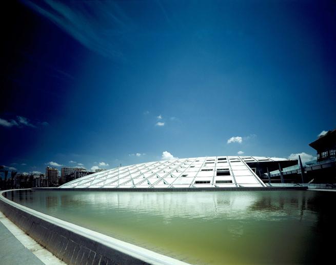 Moderna arhitektura - Page 2 Biblioteka-u-Aleksandriji-SNOHETTA
