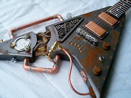 Steampunk (Stile) Steampunk-guitar-11