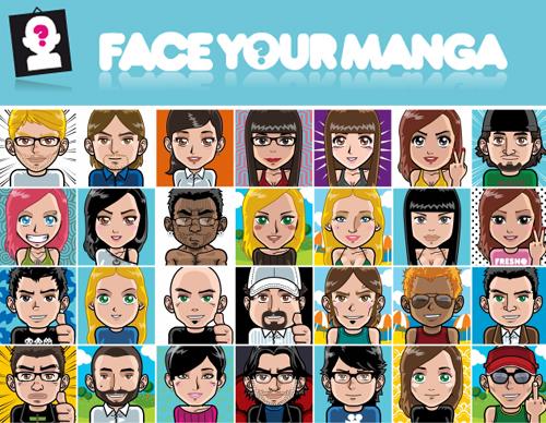 Creación de Avatares Personalizados Face.your.manga
