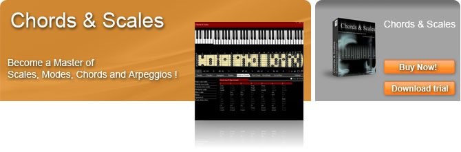 Groove box et chord trainer Chords