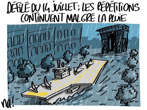Le dessin du jour (humour en images) - Page 7 2109_charles_de_gaulle_defile