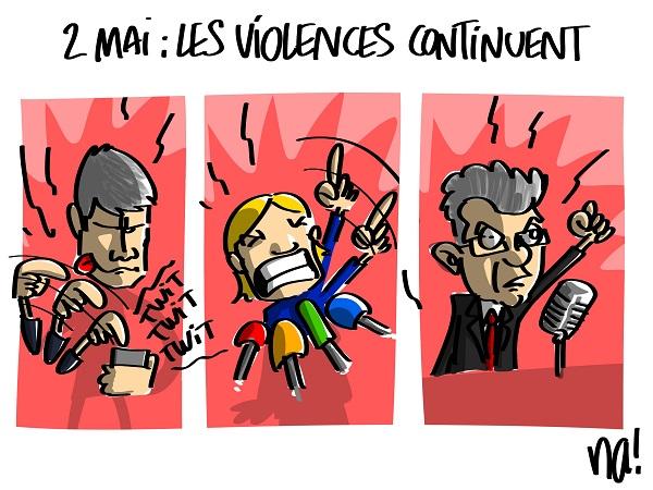 Le dessin du jour (humour en images) - Page 16 2285_2_mai_les_violences_continuent