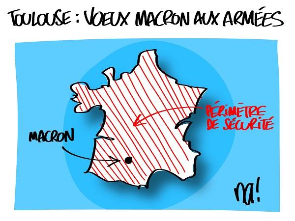 Le dessin du jour (humour en images) - Page 23 2421_toulouse_voeux_macron_aux_arm%C3%A9es