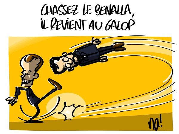 Le dessin du jour (humour en images) - Page 23 2423_chassez_le_banalla