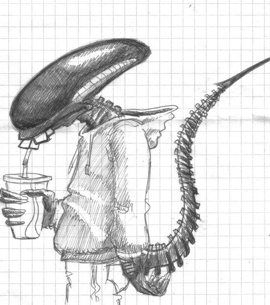Suite d'image - Page 3 Alien
