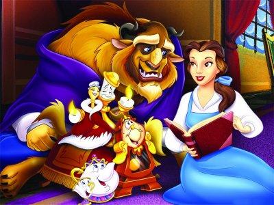 [Walt Disney] La Belle et la Bête (1991) - Page 2 Fonds-ecran-belle-bete