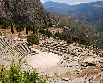 Advanced Unexplained Ruins Found At Delphi? Delphi