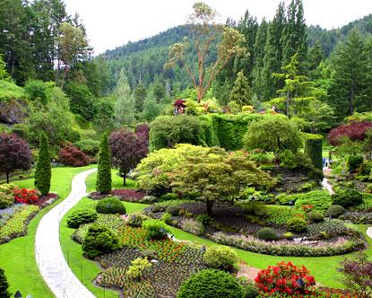 Kanada Canada-butchart-gardens