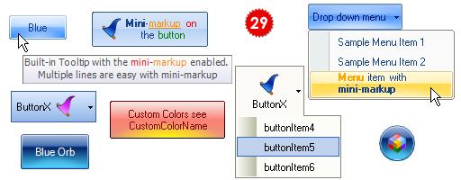 تعلم كيفية استخدام المكتبة DotNetBar لإظافة ثيم Office2007 بكل أدواته لمشروعات vb.net HomeButtonX
