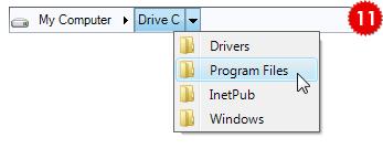 تعلم كيفية استخدام المكتبة DotNetBar لإظافة ثيم Office2007 بكل أدواته لمشروعات vb.net HomeCrumbBar
