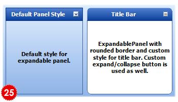تعلم كيفية استخدام المكتبة DotNetBar لإظافة ثيم Office2007 بكل أدواته لمشروعات vb.net HomeExpandablePanel