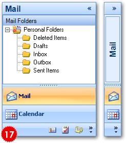 تعلم كيفية استخدام المكتبة DotNetBar لإظافة ثيم Office2007 بكل أدواته لمشروعات vb.net HomeNavigationPane