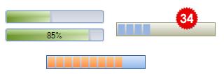 تعلم كيفية استخدام المكتبة DotNetBar لإظافة ثيم Office2007 بكل أدواته لمشروعات vb.net HomeProgressBar