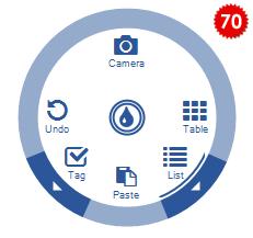 تعلم كيفية استخدام المكتبة DotNetBar لإظافة ثيم Office2007 بكل أدواته لمشروعات vb.net HomeRadialMenu