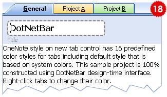 تعلم كيفية استخدام المكتبة DotNetBar لإظافة ثيم Office2007 بكل أدواته لمشروعات vb.net HomeTabControl