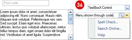 تعلم كيفية استخدام المكتبة DotNetBar لإظافة ثيم Office2007 بكل أدواته لمشروعات vb.net HomeTextBoxX