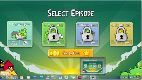 تحميل لعبة الطيور الغاضبة Angry Birds for PC 2014 وبحجم خيالي 34mb تنزيل لعبه الطيور الغاضبه 2014 Angry-Birds-on-PC